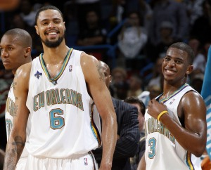 The Hornets big 3 of David West, Tyson Chandler and Chris Paul will be hoping for more success this season.