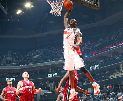 High flyer Gerald Wallace will be hoping to lead the Charlotte Bobcats to glory this upcoming season.